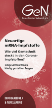 Cover mRNA-Flyer